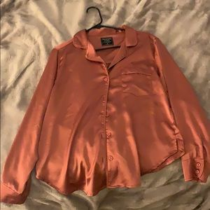 Burnt orange soft shirt